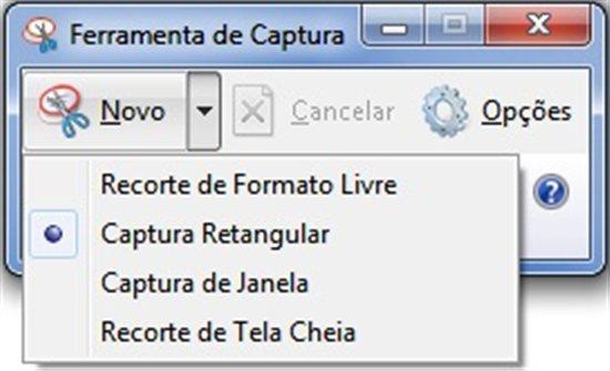 Ferramenta de captura do Windows
