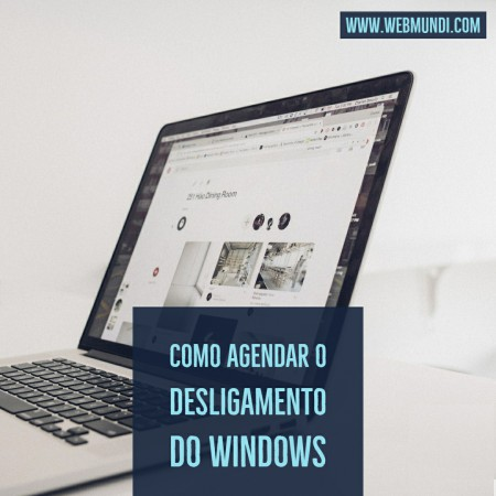 Como Agendar o Desligamento do Windows