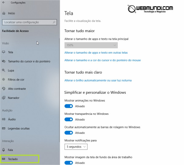 Alerta sonoro ao ligar as teclas Caps Lock, Num Lock e Scroll Lock